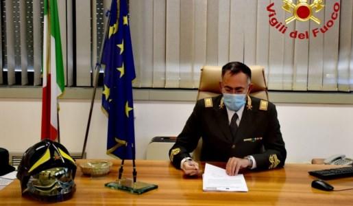 Dirigente regionale dei Vigili del Fuoco, Maurizio Lucia