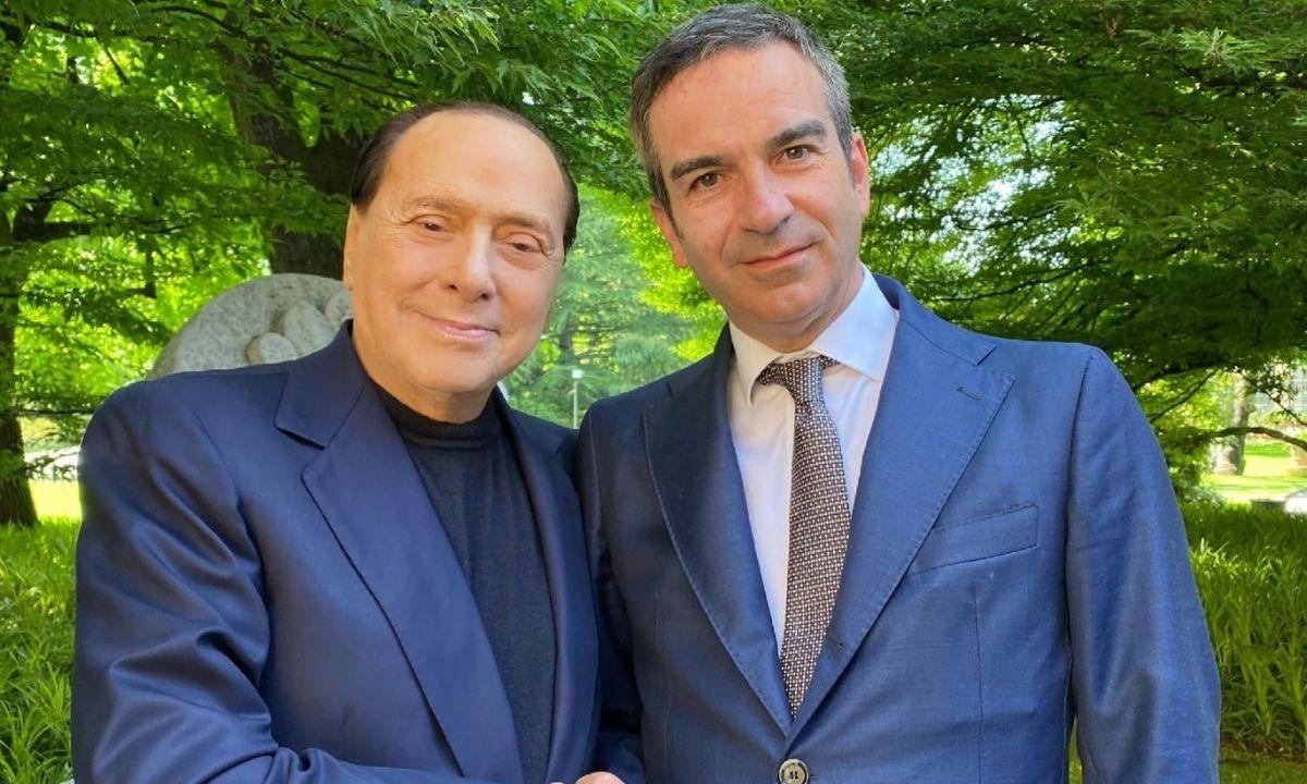 Berlusconi e Occhiuto - foto archivio