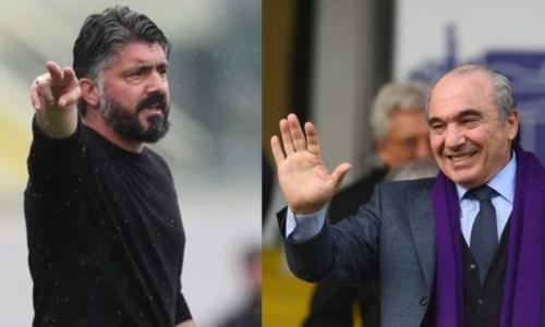 Serie A, rottura tra Gattuso e Commisso: il tecnico già verso l'addio alla Fiorentina