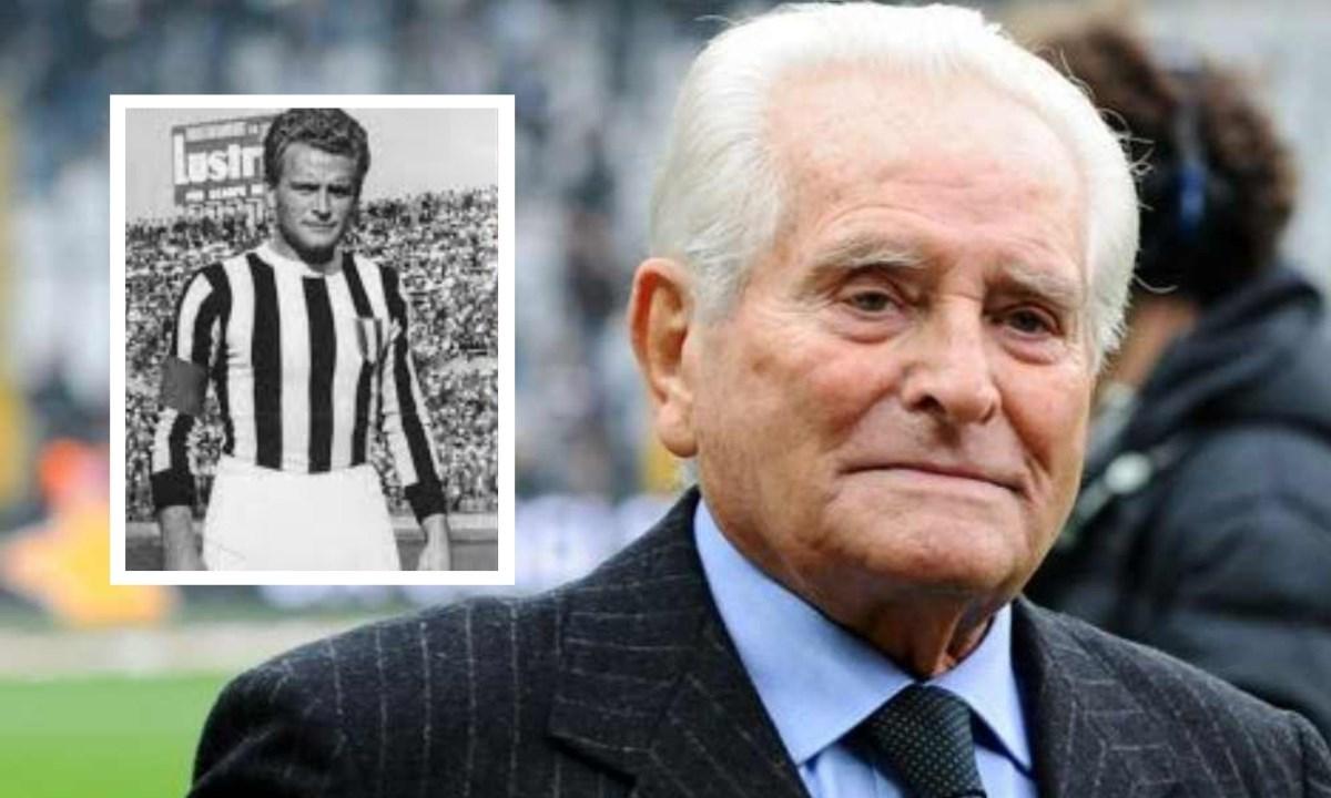 Giampiero Boniperti, presidente onorario della Juventus