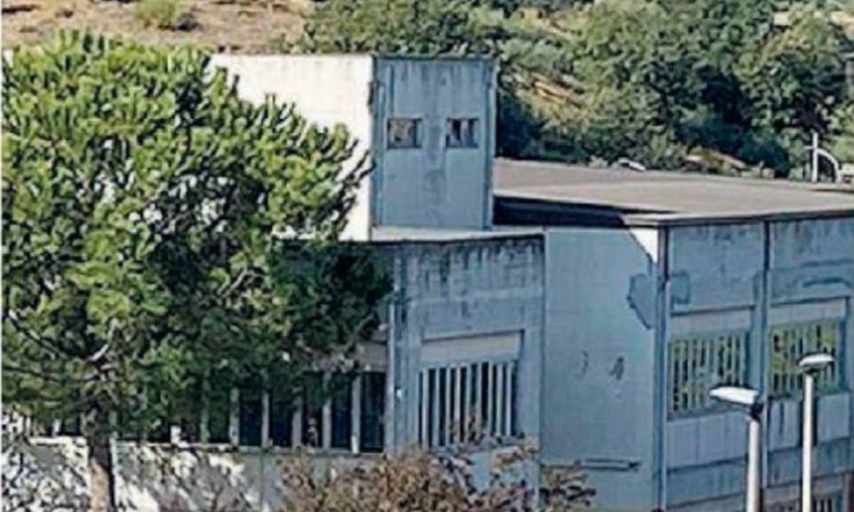 La scuola in cui è avvenuto il rinvenimento
