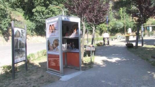 La bibliocabina di Castiglione Cosentino