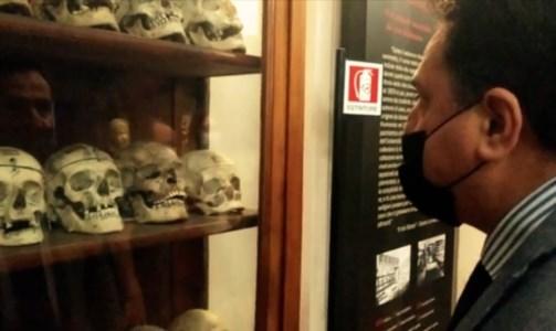 De Bonis al museo Lombroso di Torino
