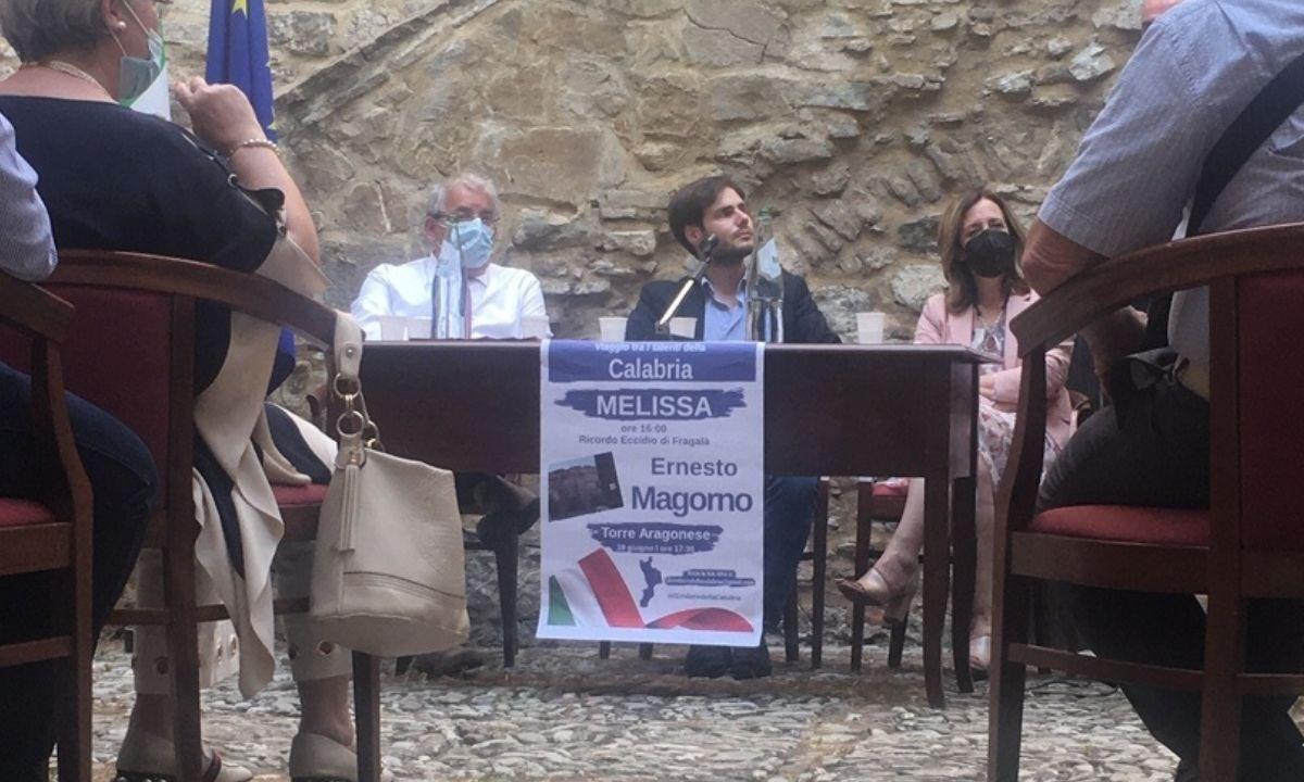 Ernesto Magorno a Melissa