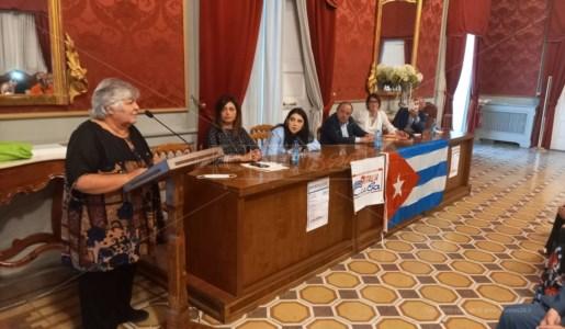 L'intervento di Aleida Guevara al Palazzo della Provincia