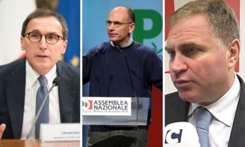 Boccia, Letta e Graziano