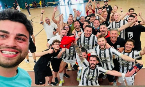 Futsal, il Polistena scrive la storia: vince a Viterbo e porta la Calabria in serie A