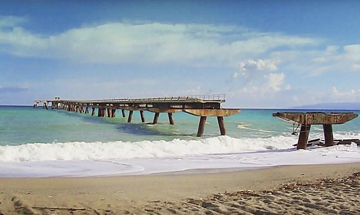 Il pontile di Curinga, foto da Wikipedia