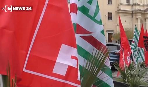 Lavoratori e sindacati da domani in protesta con iniziative in Calabria e fuori regione