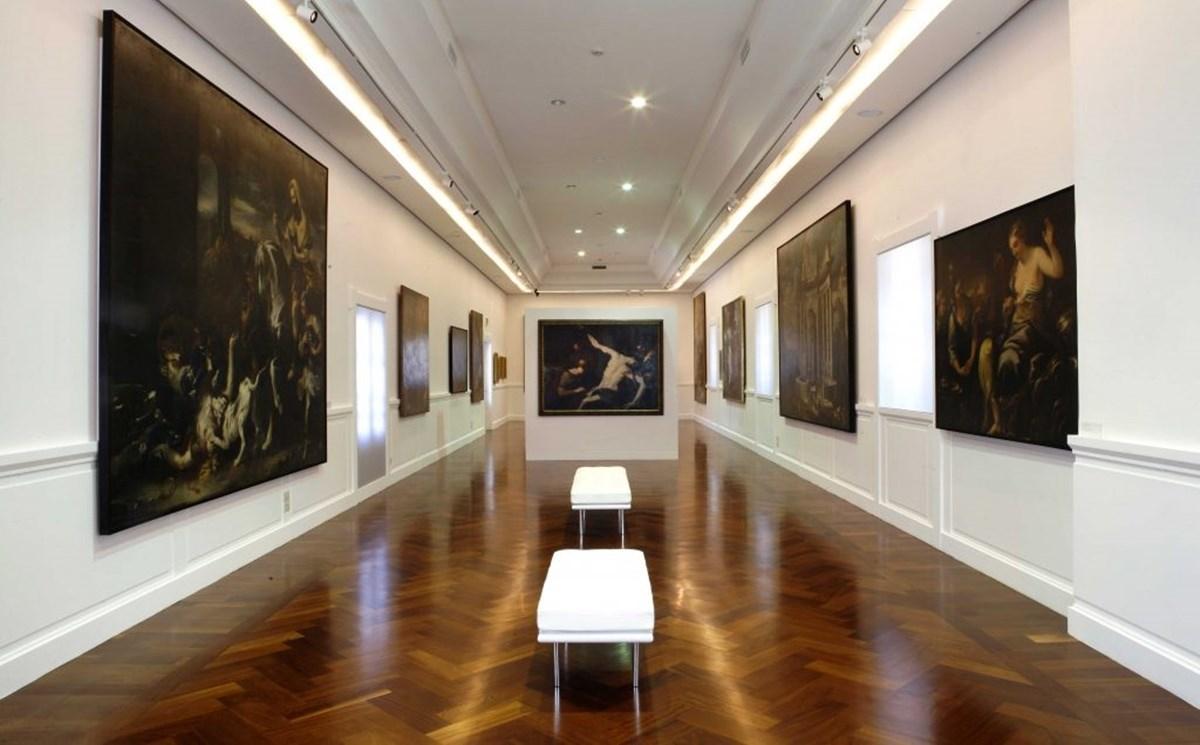 Un'immagine della Galleria nazionale di Cosenza