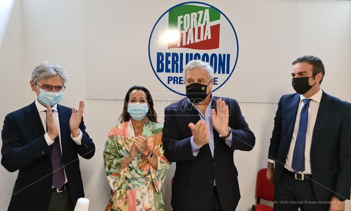 Mangialavori, Ronzulli, Tajani e Occhiuto a Vibo