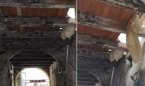 Cosenza, il centro storico continua a sbriciolarsi: crollano alcuni solai di un edificio