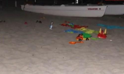 La spiaggia dove è stato ucciso Rombolà