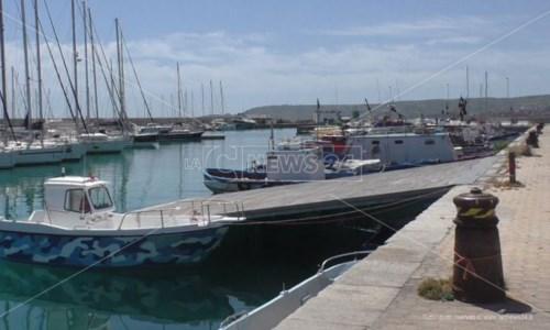Niente ristori royalty: pescatori verso lo stato di agitazione a Crotone e Le Castella