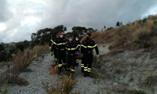 Morto l'uomo rimasto ustionato nell'incendio tra Motta San Giovanni e Montebello Jonico