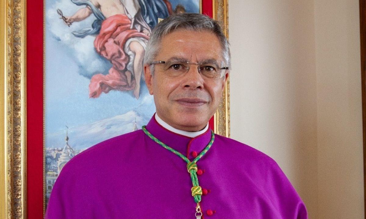 Il vescovo di Lamezia monsignor Schillaci