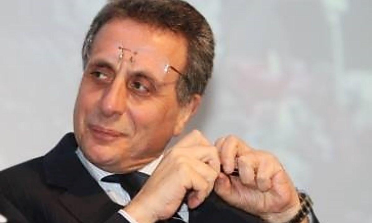 Il professor Caligiuri, foto dalla pagina fb