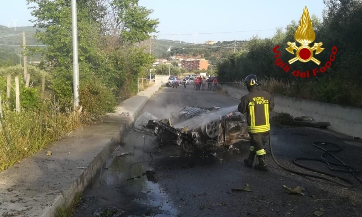 L'incidente nel Catanzarese