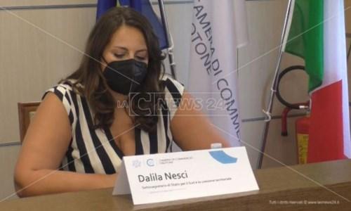 Crotone, Nesci: «Solo metà delle risorse assegnate alla Calabria sono state spese»