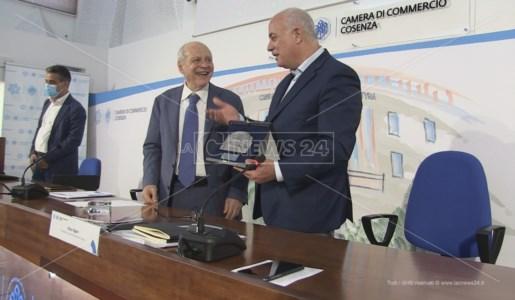 Tiziano Treu ospite a Cosenza della Camera di Commercio