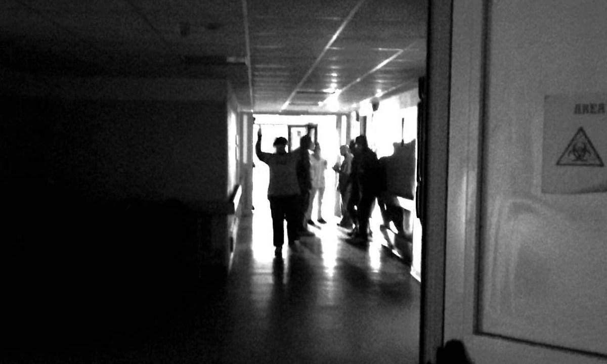 Ospedale al buio