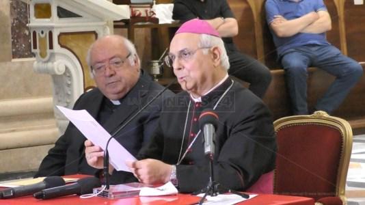 L'arcivescovo metropolita di Catanzaro-Squillace, Vincenzo Bertolone