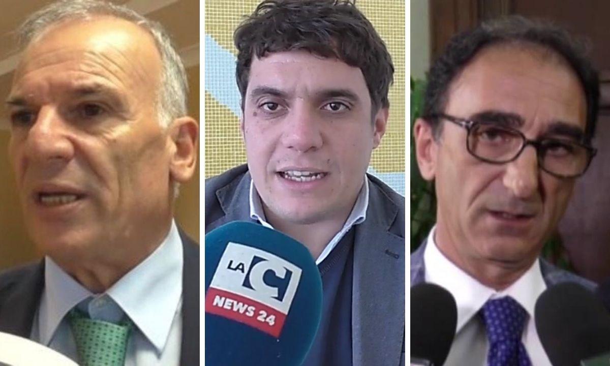 Domenico tallini, Marco Polimeni e Sergio Abramo