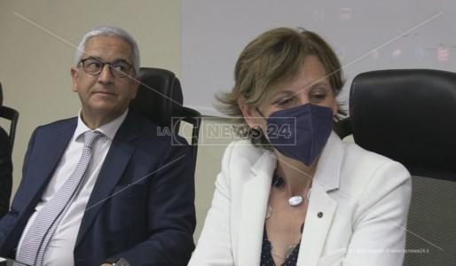 La presidente Figs Antonella Granata con il sindaco di Rende Marcello Manna