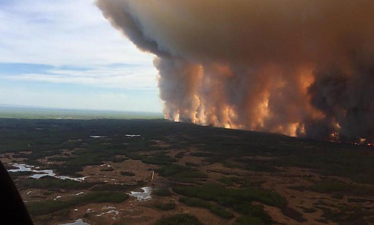 Incendio a Lytton, foto ansa