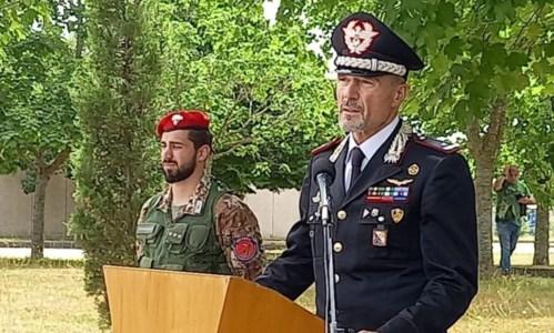 Lotta alla 'ndrangheta, cerimonia per i trent'anni dello Squadrone eliportato cacciatori Calabria
