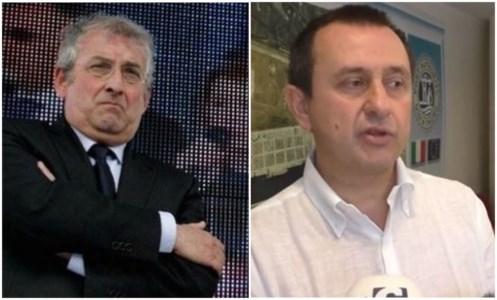 Da sinistra, Magorno e Rosato