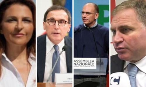 Ventura, Boccia, Letta e Graziano