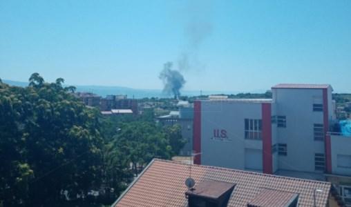 San Gregorio d'Ippona, incendio nei pressi della discarica: a fuoco pneumatici e alberi