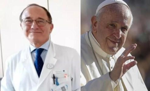 Il dottor Luigi Sofo e Papa Francesco