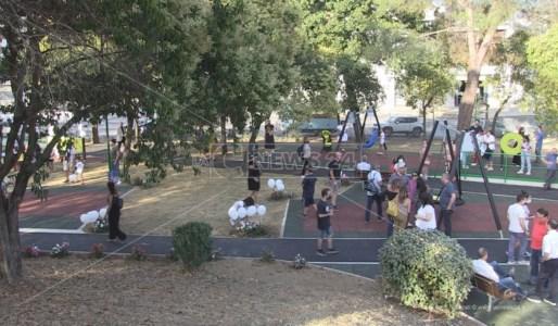 Rende, inaugurato il Parco dei Nonni