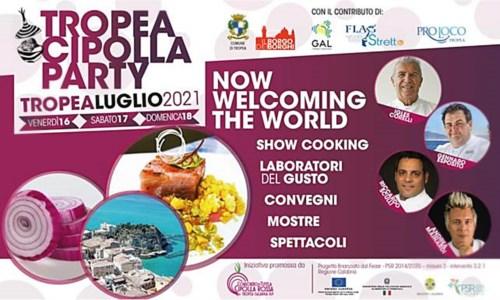 Tropea cipolla party, tre giorni di convegni e cooking show per celebrare la rossa di Calabria