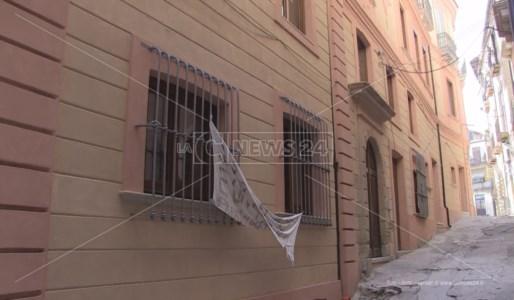 Palazzo Alimena nel centro storico di Cosenza
