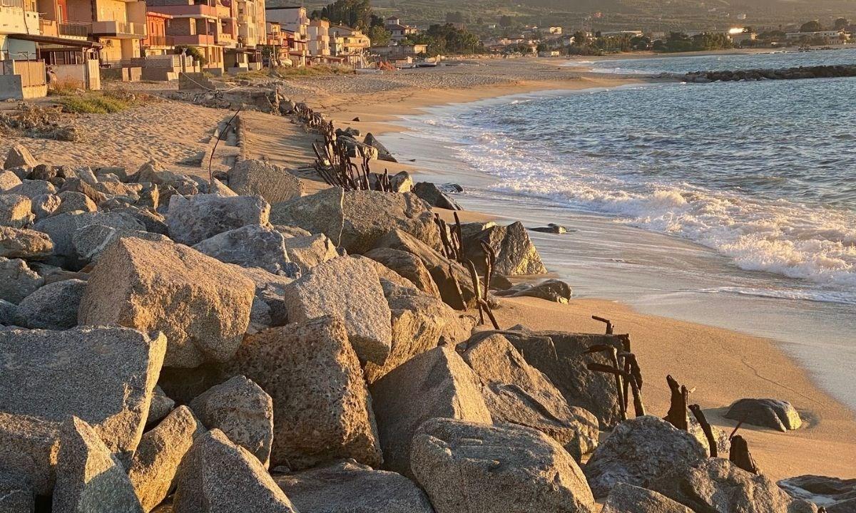 La spiaggia del Pennello a Vibo Marina