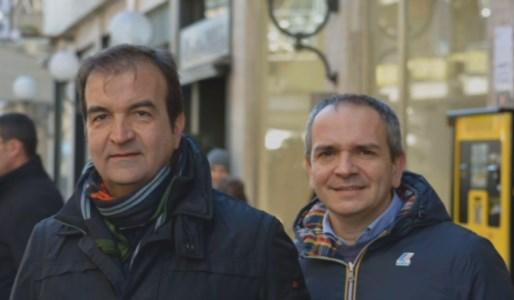 Mario Occhiuto insieme a Giuseppe Cirò