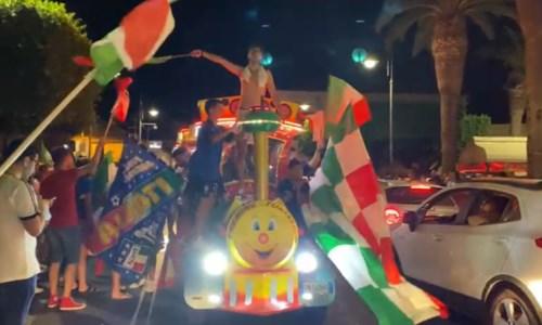 Italia campione d'Europa, Calabria in festa: le immagini dalle piazze