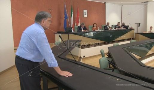 Rende, un momento dell'assemblea dell'Ato Cosenza ospitata a Rende