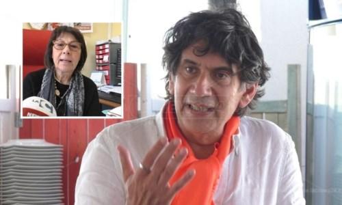 Carlo Tansi, nel riquadro Amalia Bruni