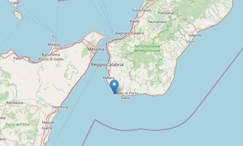 Terremoti Calabria, scossa nello Stretto di Messina davanti alla costa reggina