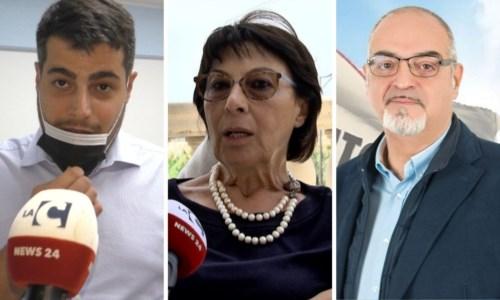 Riccardo Tucci, Amalia Bruni e Massimo Misiti