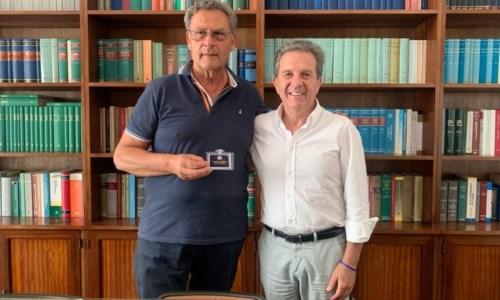 Giovanni Antonio Di Lorenzo insieme a Giacomo Saccomanno