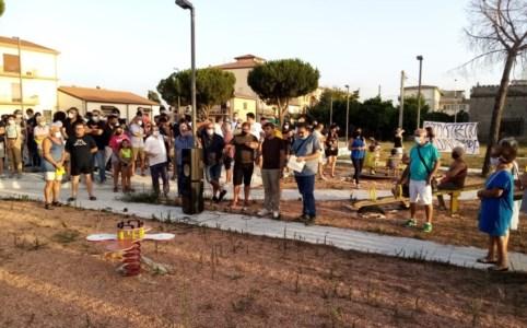 Ecodistretto di Villapiana, cittadini in piazza per dire no. Raspa: «Sarà un monnezzaio»