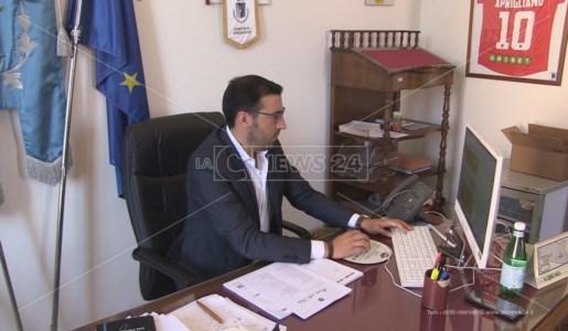 Il sindaco di Aprigliano, Alessandro Porco