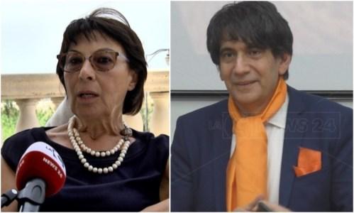 Amalia Bruni e Carlo Tansi