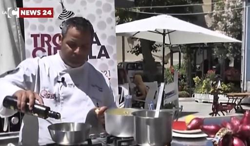 Al Tropea cipolla party i piatti dello chef stellato Sculli: «Così valorizziamo i nostri sapori»