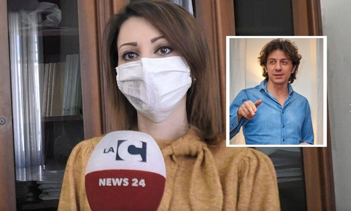 L'assessora alle attività produttive di Reggio Calabria Irene Calabrò e nel riquadro Cappato